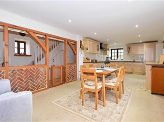 4 bedroom barn conversion in Whitwell