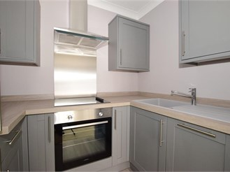 1 bed first floor retirement flat in Cowes