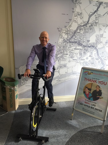 "PITTIS HELP RAISE £40,000 WITH A ""ROUND THE WORLD CHARITY CYCLE RIDE"""