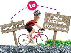 Lands End to John O'Groats: Day 14 - Finished!