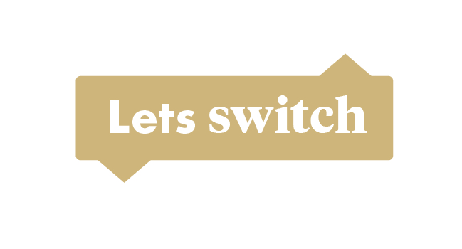 Lets switch logo